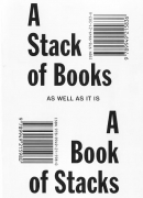 A stack of books as well as it is a book of stacks, de Triin Tamm, Rollo press,
