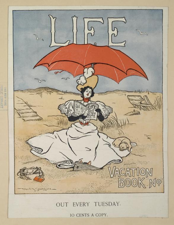 """Life, Vacation Book"", The Miriam and Ira D. Wallach Division of Art, Prints and Photographs : Art & Architecture Collection, The New York Public Library Digital Collections. 1893 - 1924."