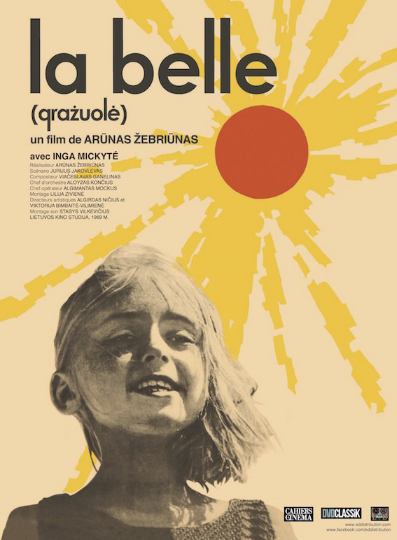 La belle, de Arunas Zebriunas, DVD Ed distribution